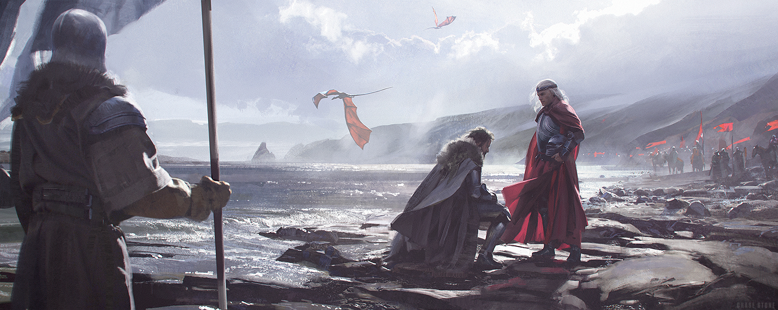The King Who Knelt by chasestone