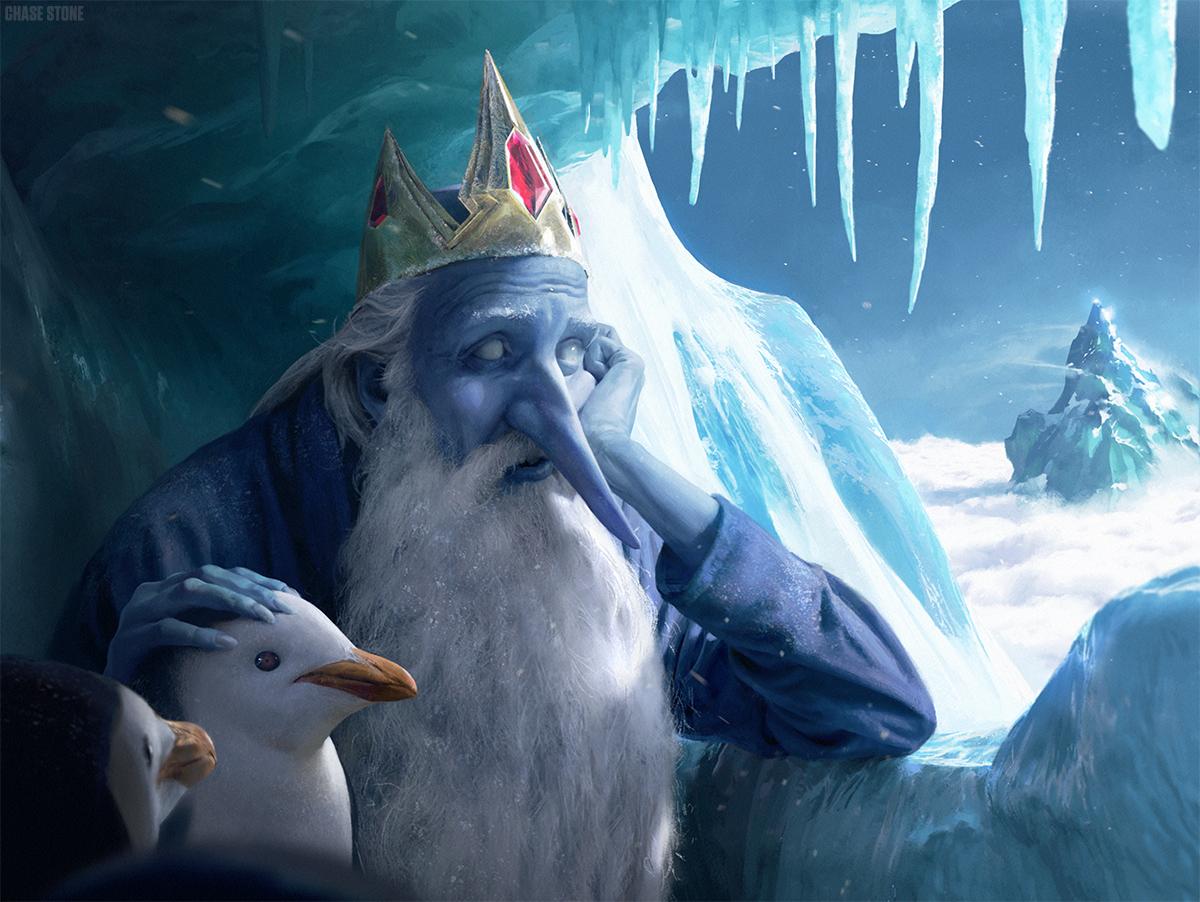sr geek picks reallife ice king pixelated simpsons