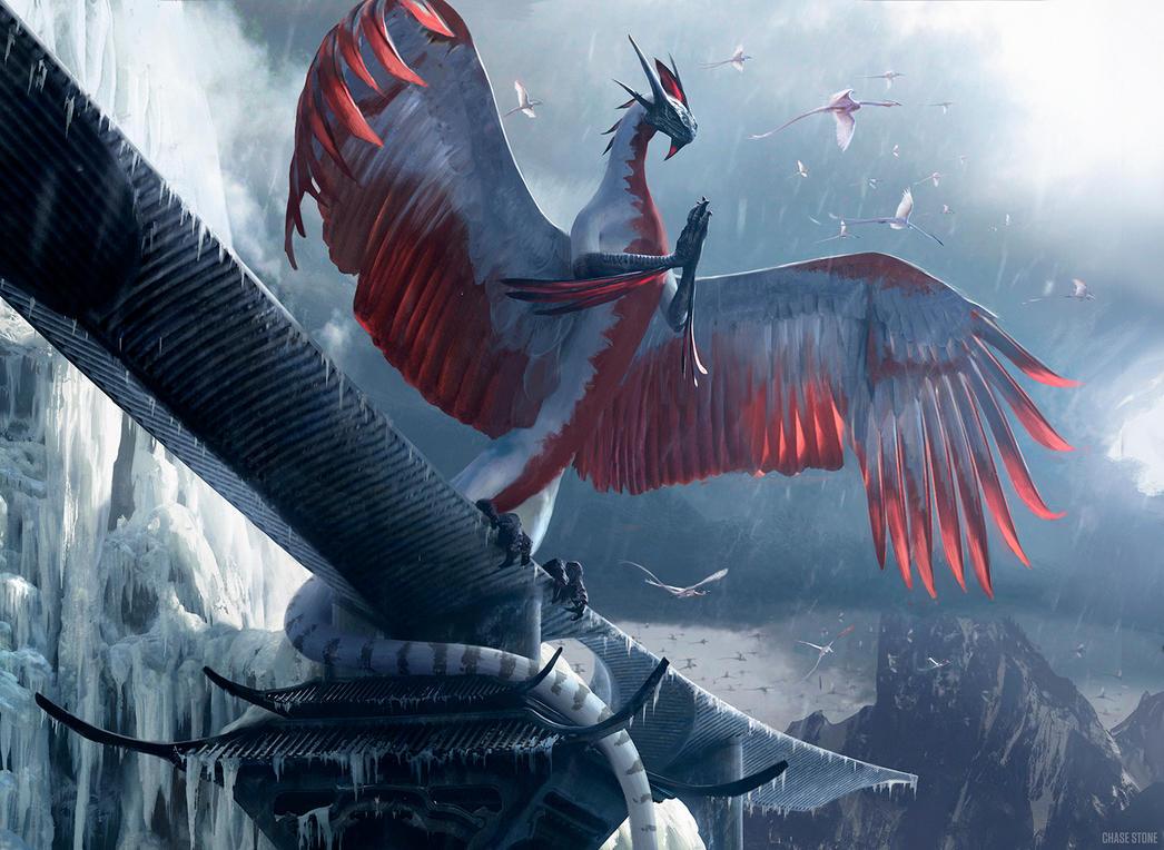 Dragonlord Ojutai by chasestone