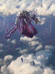 Eldrazi Skyspawner by chasestone