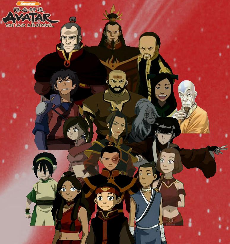 Team Avatar: Team Avatar By Winter-Phantom On DeviantArt