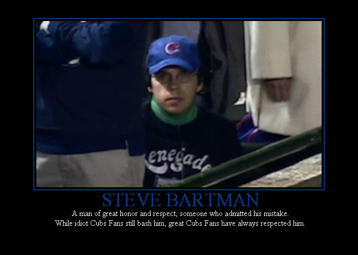 Steve Bartman 2013 My Home And Yours
