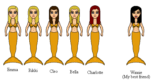 H2O Mermaids Updated By Winter Phantom