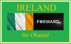 Ireland supports Obama!