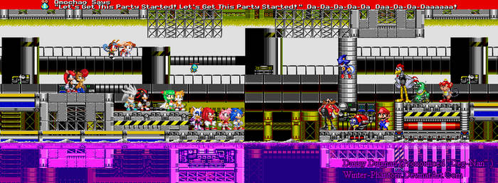 Chemical Plant Zone Banner