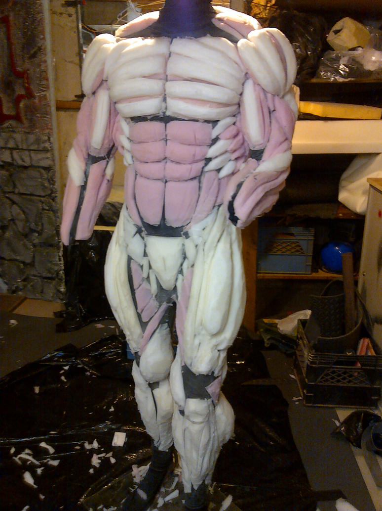 Carnage Muscle Suit Final Cut By Mongrelman On Deviantart