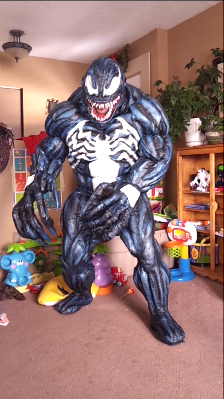 venom costume complete by mongrelman