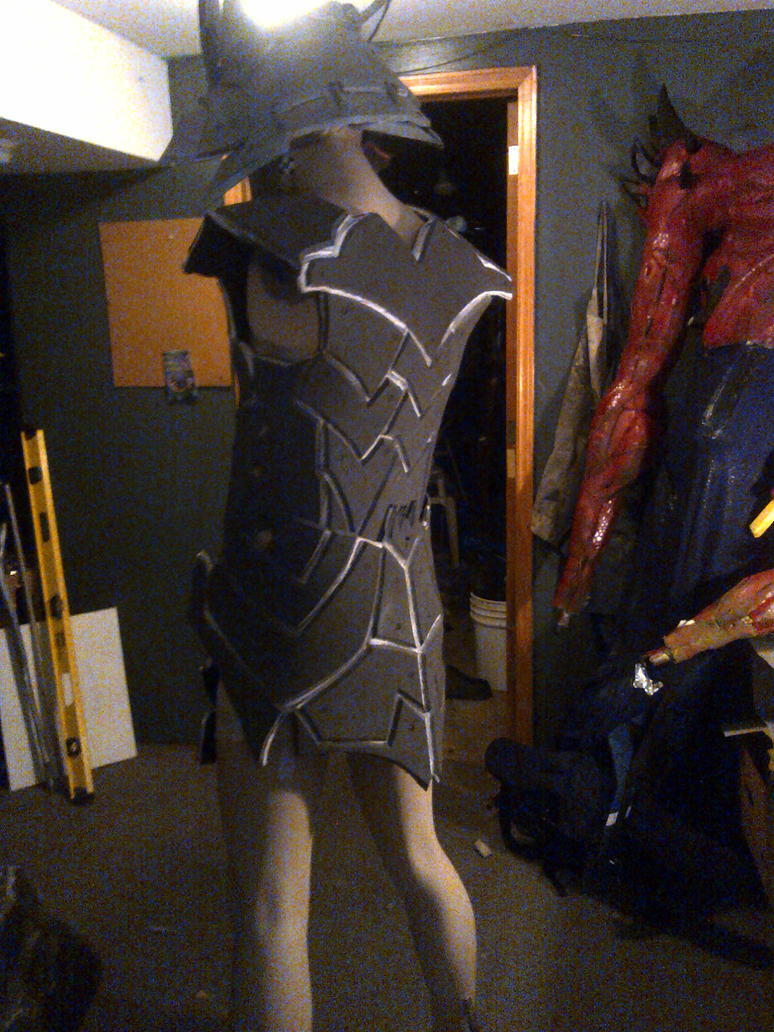 shredder costume build by mongrelman