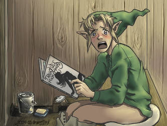 I am SO blackmailing Link now