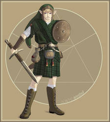 Zelda: Link the Scotsman