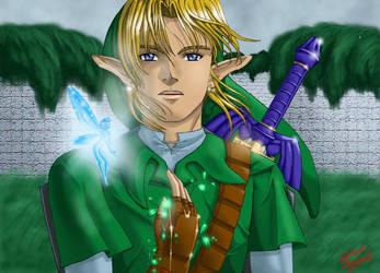 Zelda: Forest Medallion by animetayl