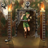 Zelda: The Deku Tree's Curse by animetayl