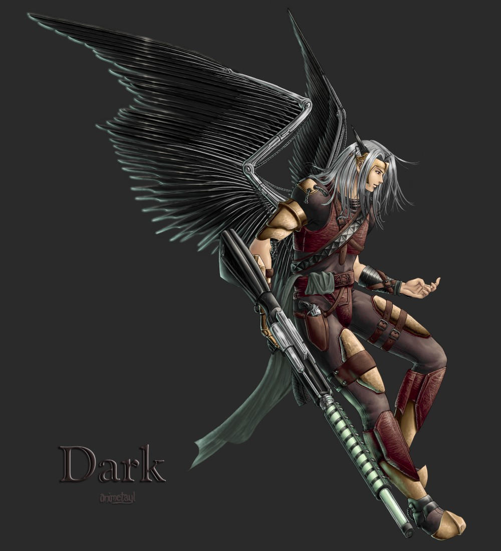 Commission 2 Part 2- Dark by animetayl