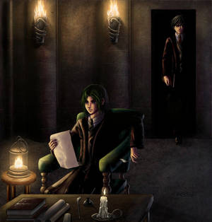 HP: Snape and James for 5555