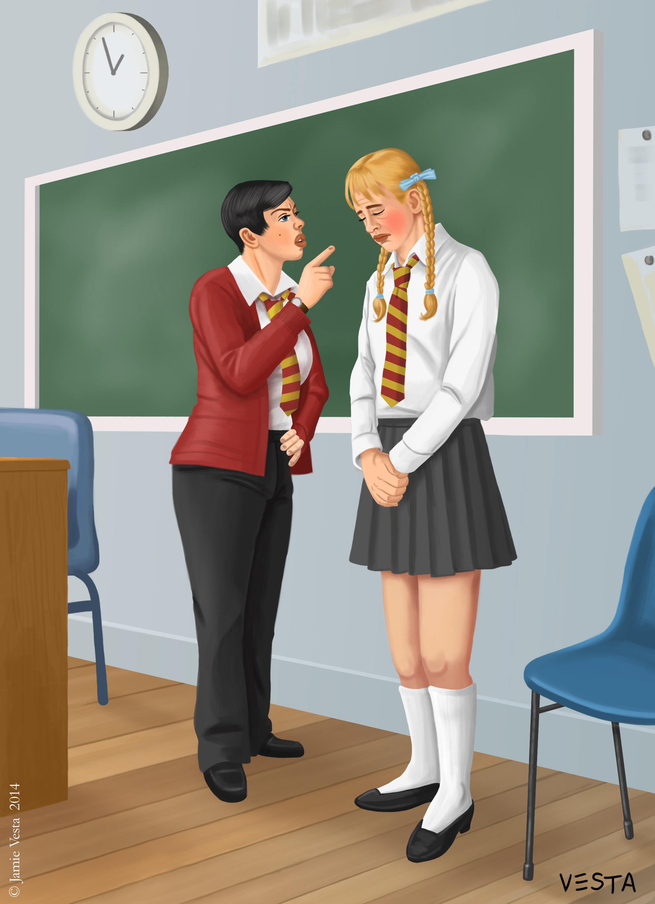 Erotic stories about school shopping and spankin