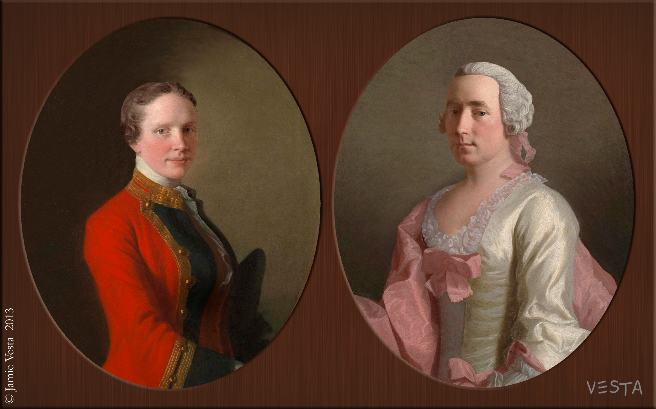 eve s rib th century couple 18th century couple