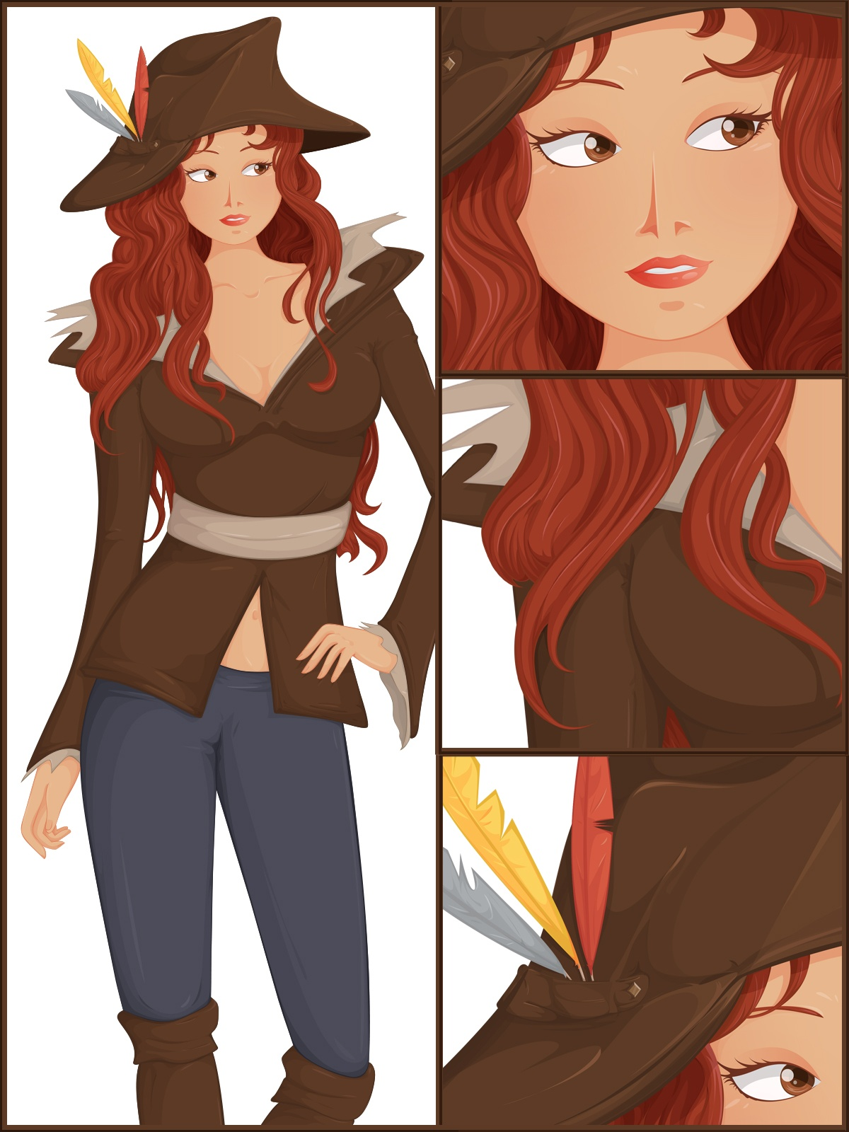 Piratess Vector art #05 by MindInChaos