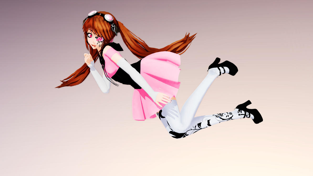 MMD TDA Harmony Orion UTAU Model Download By Kira Goddess