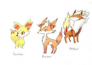 My version of Fennikin's Evolutions