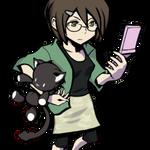 Shiki Misaki (real) Cellphone