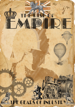 Steampunk Empire Poster