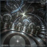 Energy Machine 04 - The City by fractalyzerall