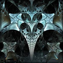 Two Frozen Heart by fractalyzerall