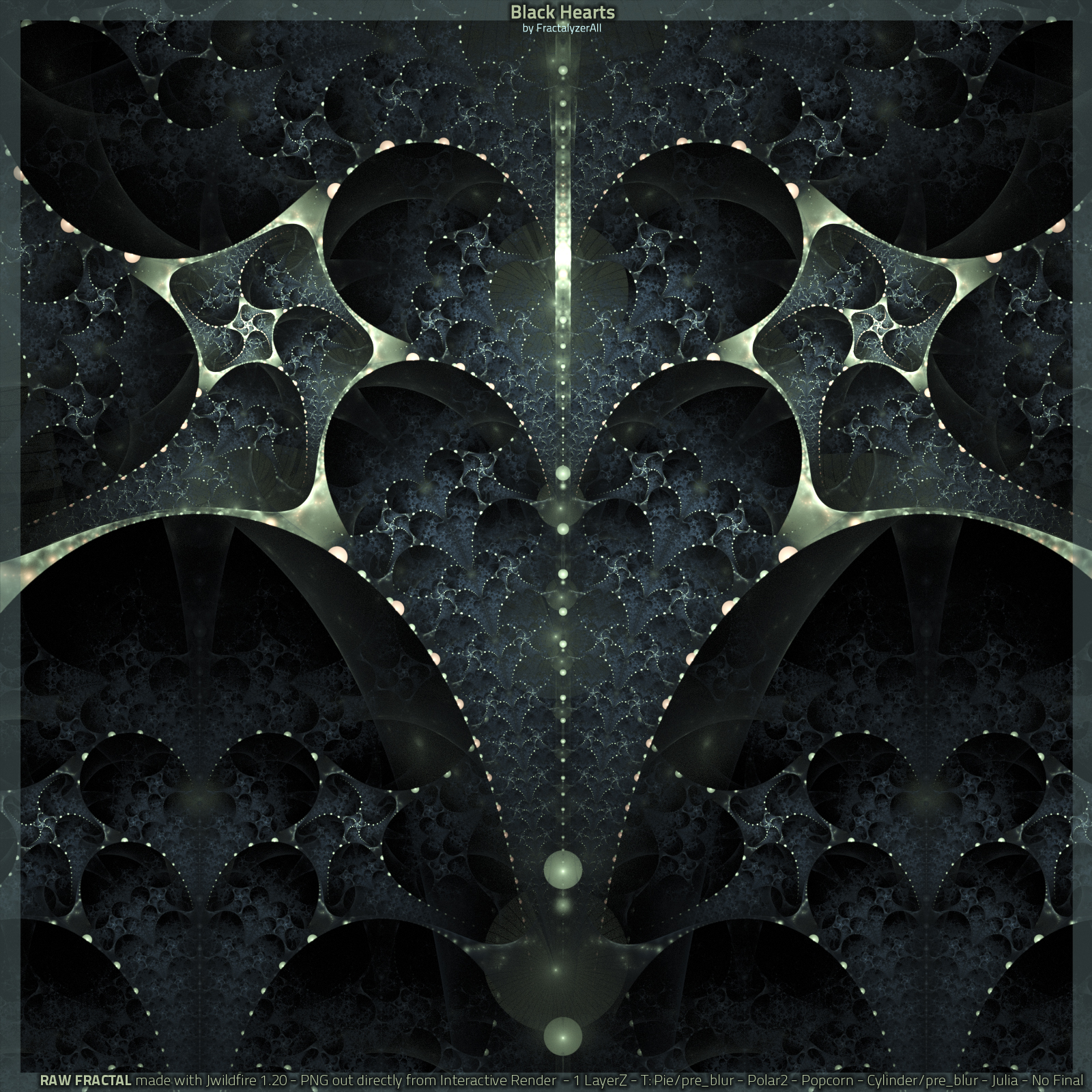 Black Hearts by fractalyzerall