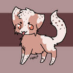 //Open// hot chocolate and whipped cream kitty by xLittleAdoptsx