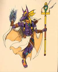 Anubis  (Wrk in Progress) by MoonmansArtworks