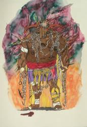 Hades Illustration by MoonmansArtworks