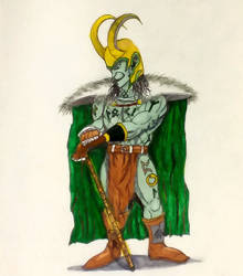 Loki  by MoonmansArtworks