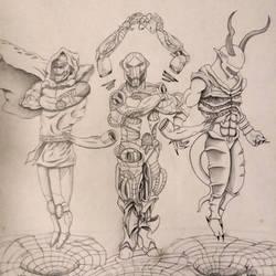 Dr. Doom, Ultron, Jenemba
