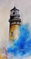 Light At Sea by Ala-Blue