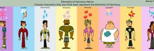 Total Drama Boys Elements Of Harmony