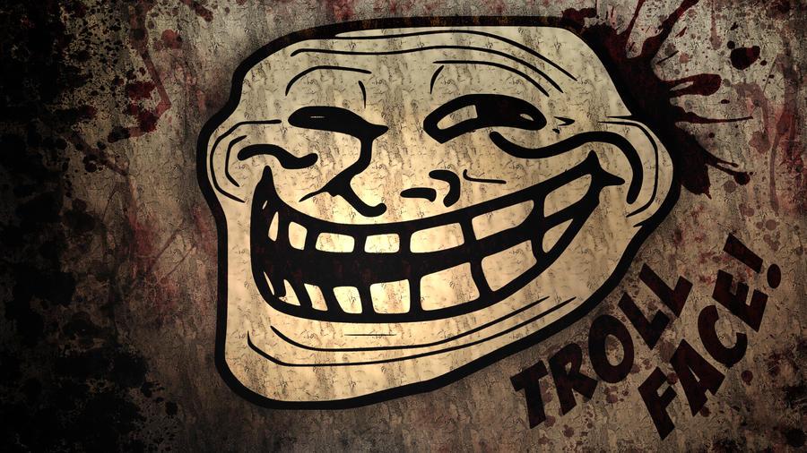 TrollFace Wallpaper by JulioTheChange