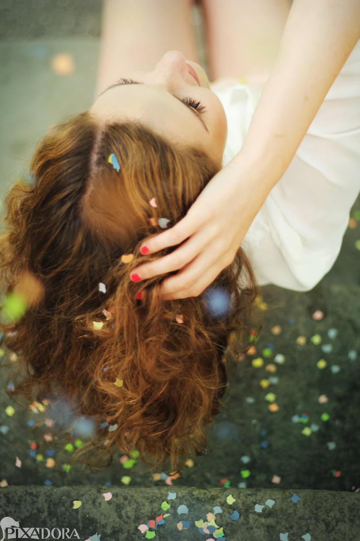 confetti party III by Steffi-im-Wunderland