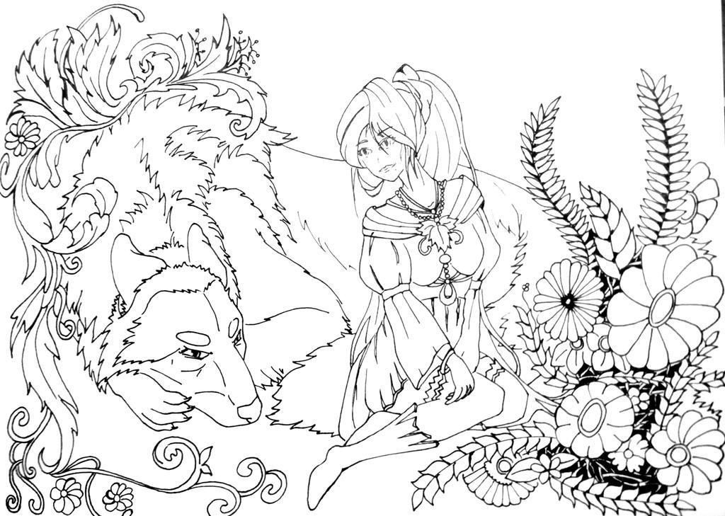 Line Art 1 by Anoop-K