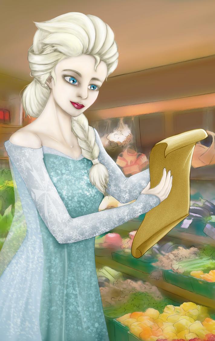 Elsa by Anoop-K