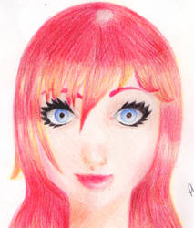 Asami OC Art by ElvenPhoenixFaye