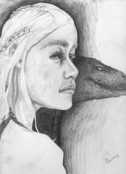 Daenerys Targaryen by ElvenPhoenixFaye