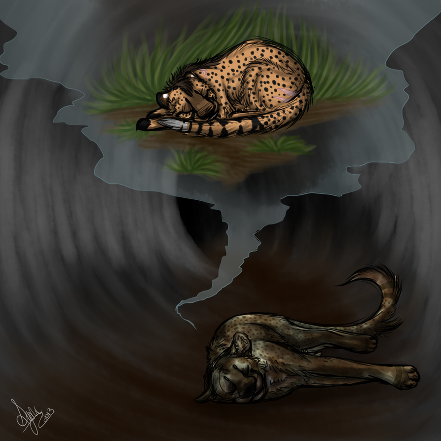 Huru, 'In the Tunnels' by SyncTheMutantJackal