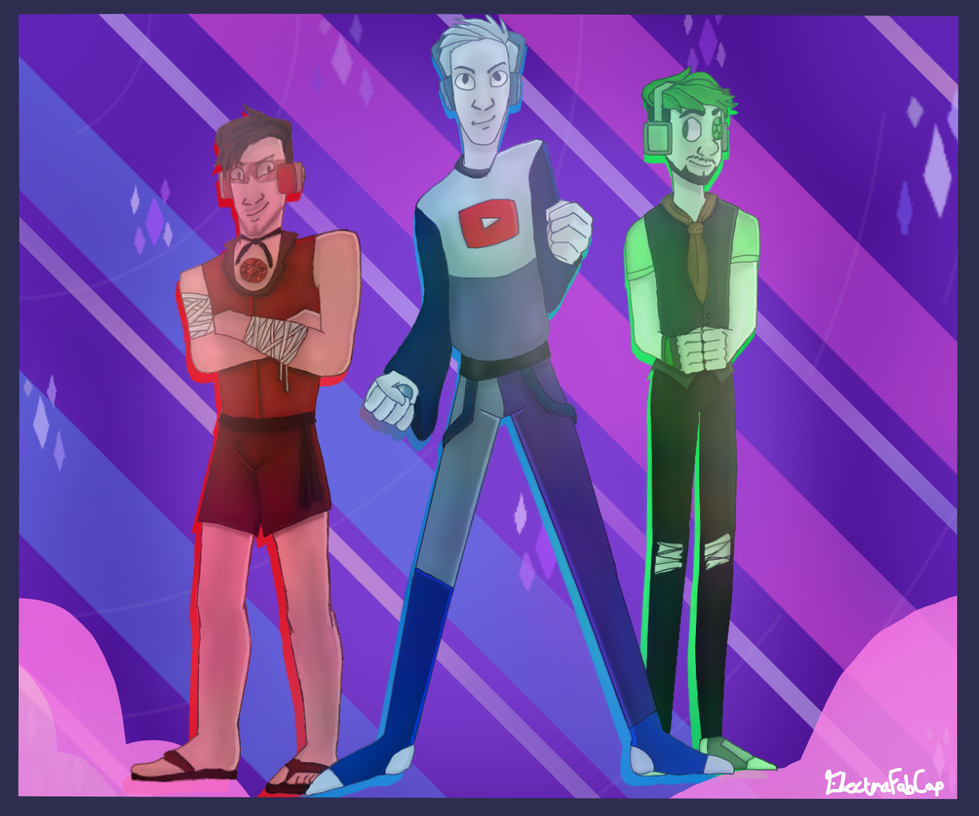 We are the Crystal...JERKS (sorry) by Electra-Fab-Cap