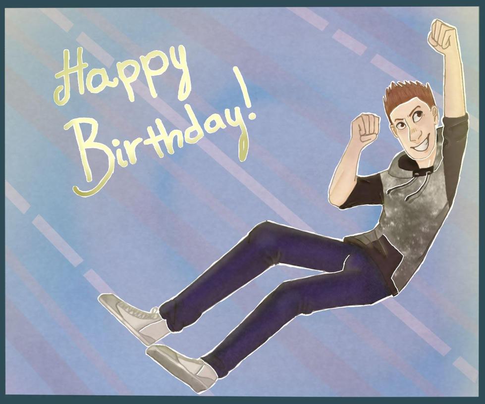 Birthday boiiiiiiiii (commission) by Electra-Fab-Cap