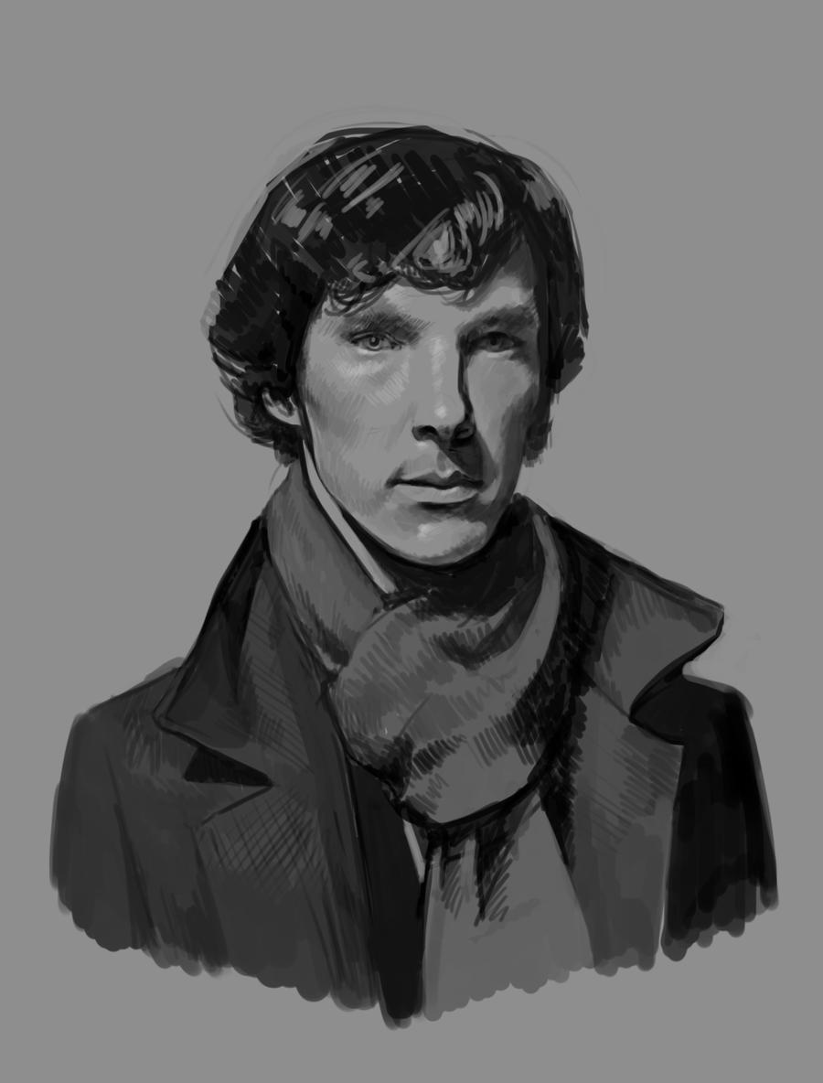 Sherlock by asyuumi