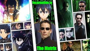 Kirito vs Neo Wallpaper