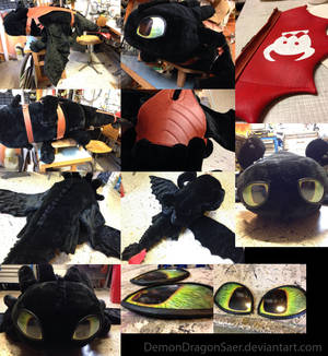 Giant Toothless Plush (Compilation)