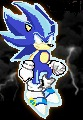 Ice Sonic by SonicAsura