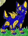 Lucian the Wolvine (spectrobe) by SonicAsura