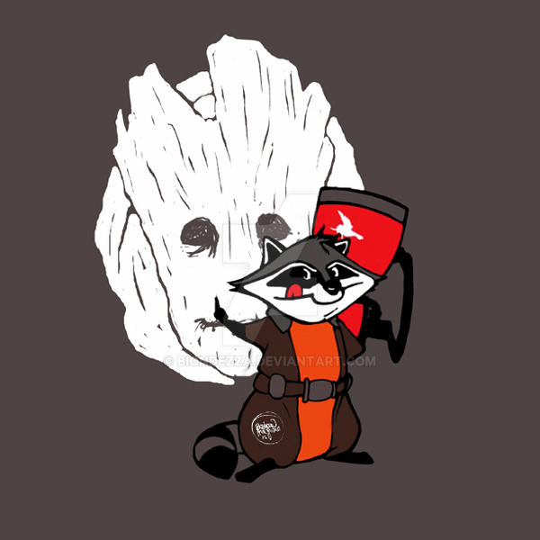 Rocket Meeko by BiondezzA